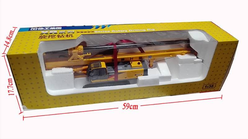 XCMG Rotray Drilling Rig XR220 Model (1:35)