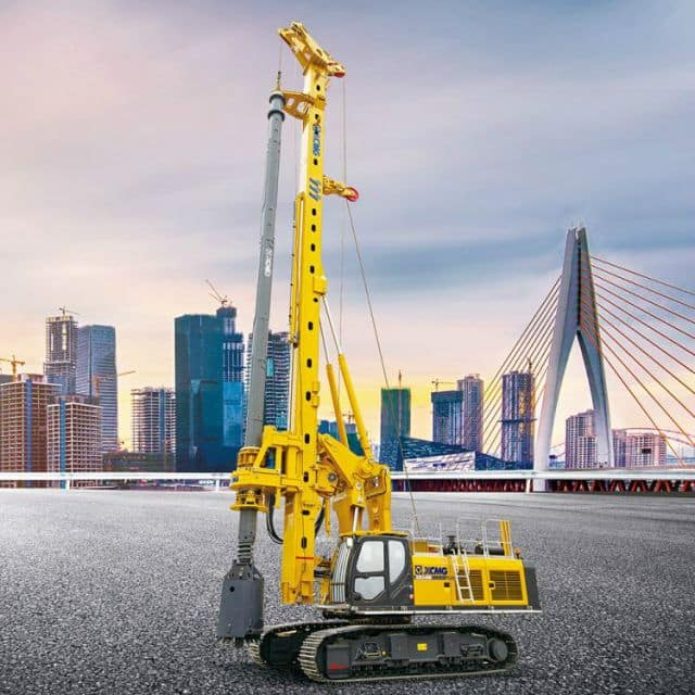 XCMG Official 70 Meter Potable Rotary Drilling Rig XR240E China Drilling Rig Machine for Sale
