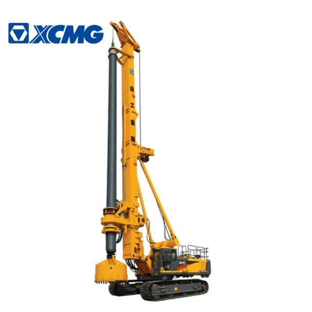XCMG Official 132m Hydraulic Rotary Drilling Rig XR550D China Portable Drilling Rig for Sale