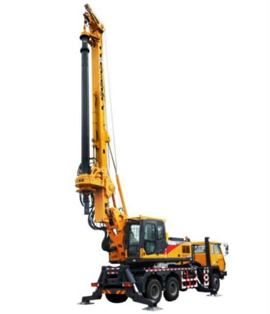 XCMG Official 25 Meter Rotary Drilling Rig XRL100 China Truck Mounted Drilling Rig Machine Price