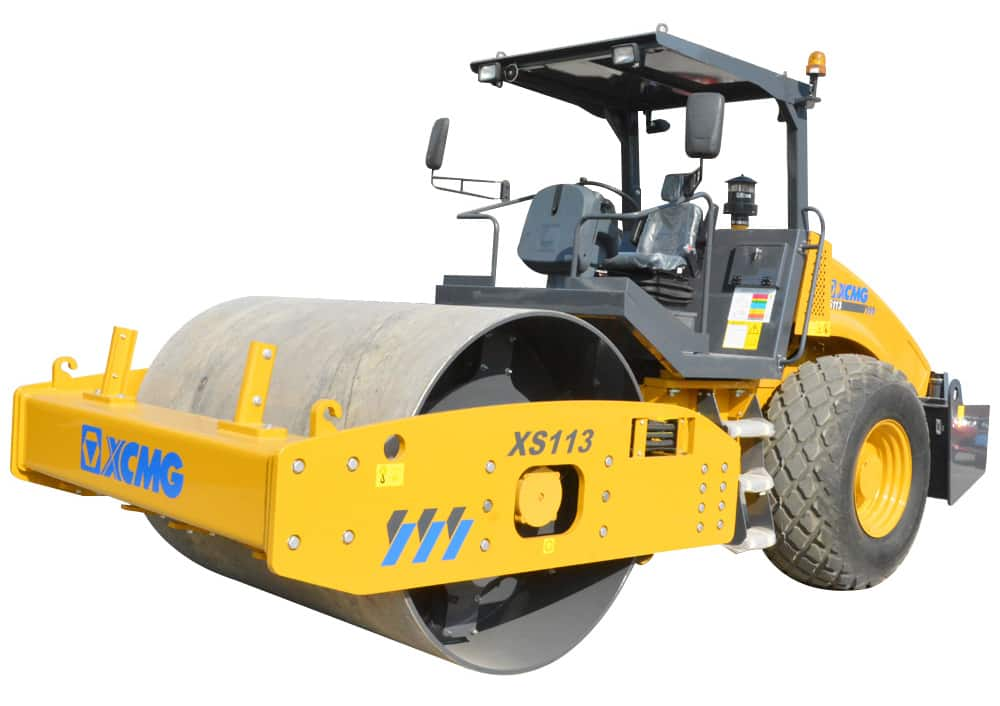 XCMG Official XS113 Single Drum Vibratory Roller for sale