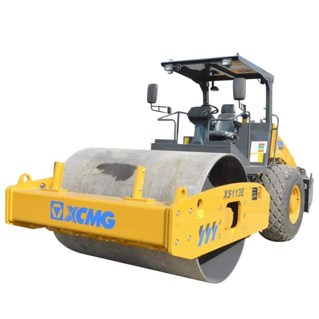 XCMG Official XS113E Single Drum Vibratory Roller for sale