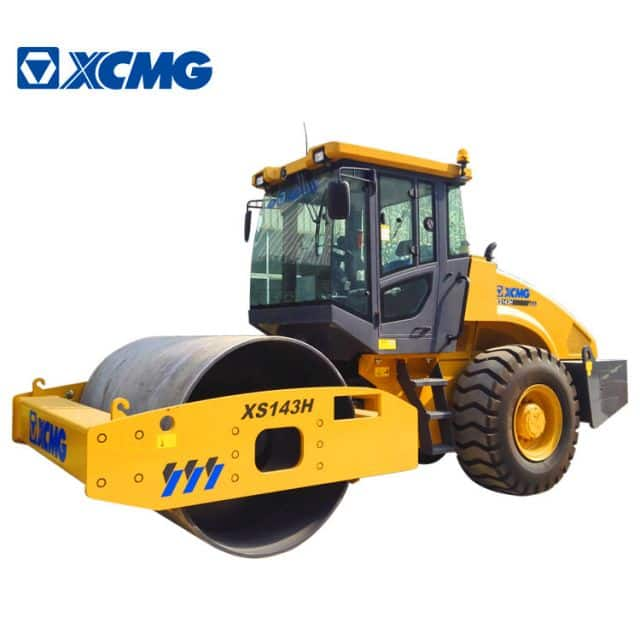 XCMG Official 14 ton hydraulic compactor XS143H single drum vibratory road rollers compactor price
