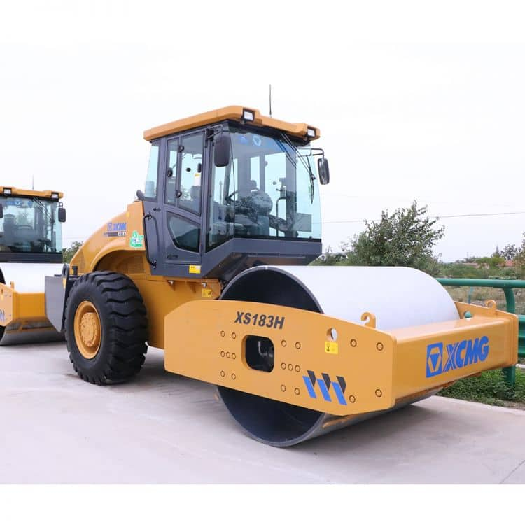 XCMG official manufacturer XS183H road roller for sale