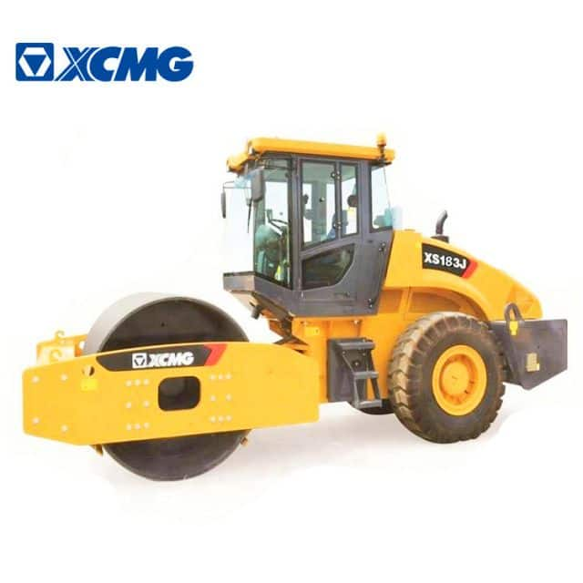 XCMG manufacturer 18 ton road rollers XS183J china new hydraulic road roller compactor price