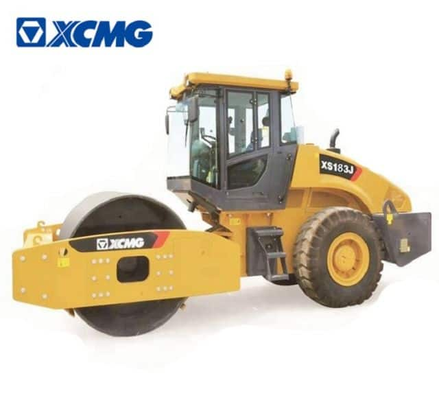 XCMG Official XS183J vibratory road roller 18 ton compactor machine for sale.