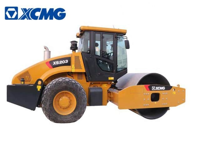 XCMG 20 ton vibratory road roller XS203 new road roller machine price