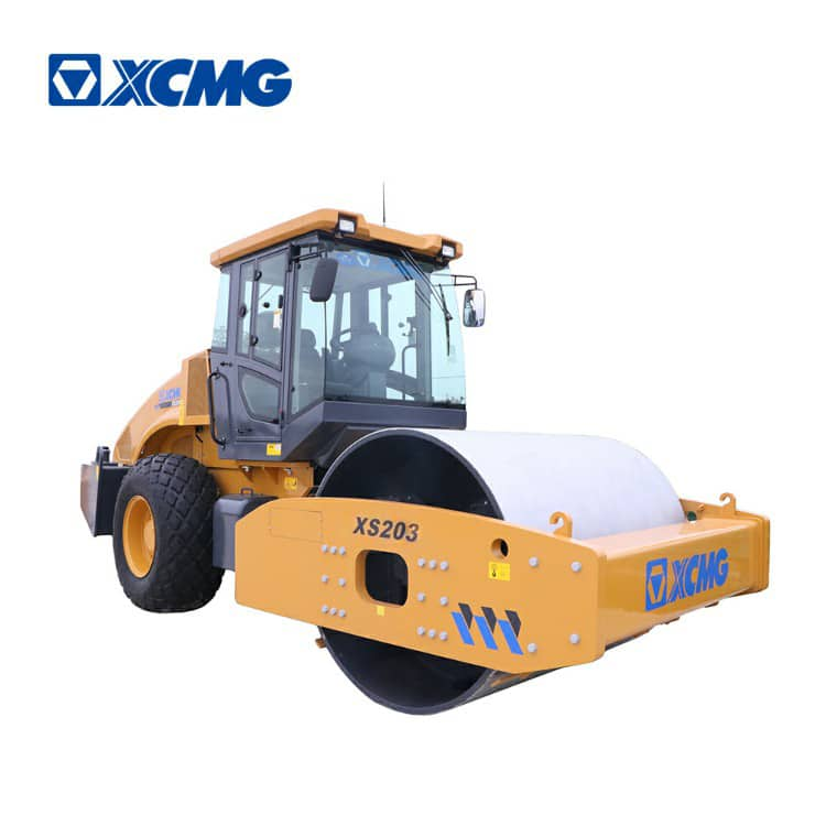 XCMG official 20 ton rc road roller compactor XS203