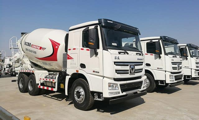 XCMG Official New Arrival Concrete Machinery XSC3307 Small Ready Mix Concrete Truck Mixer For Sale