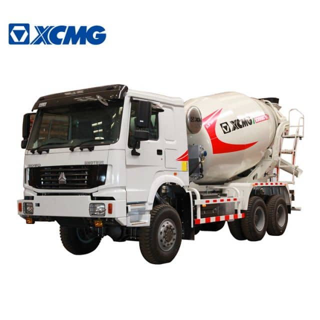 XCMG Official XSC4305 Diesel Concrete Machinery Self Loading Concrete Mixer Truck For Sale