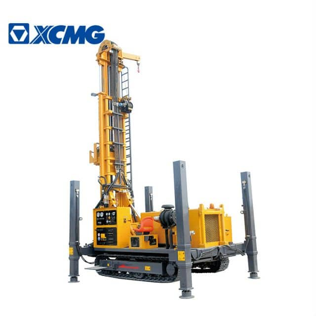 XCMG 500m water well drilling rig XSL5/280 China truck mounted deep rig machine price