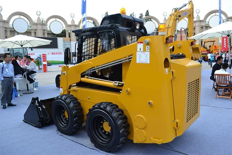 XCMG XT750 Chinese new multifunction skid steer loader