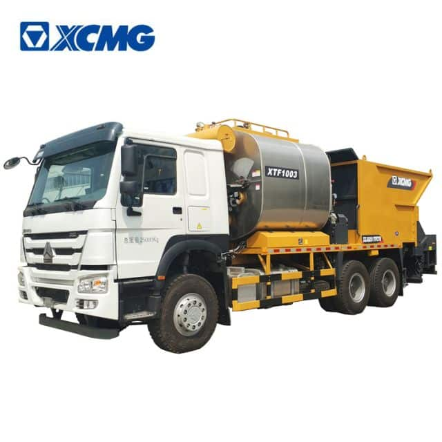XCMG official asphalt chip synchronous sealer XTF1003 road machine price