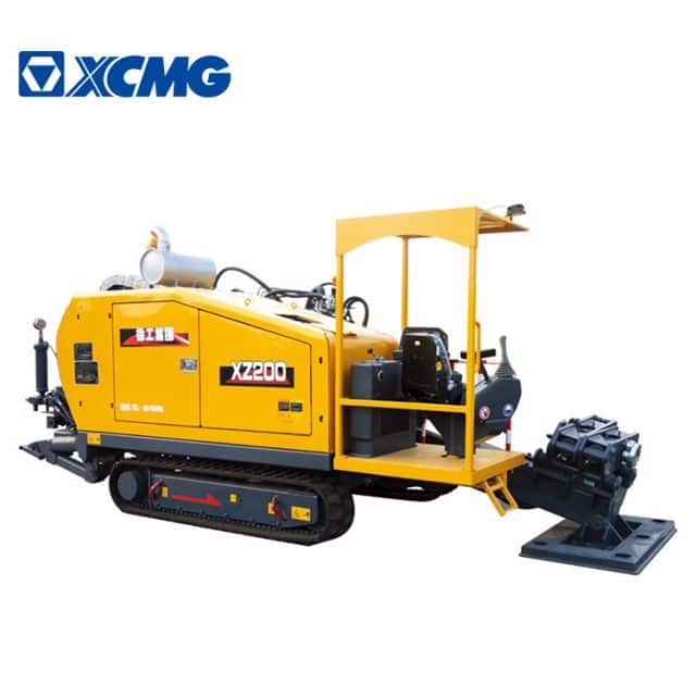 XCMG 225kn HDD XZ200 china small horizontal directional drilling machine with cummins engine price
