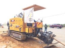 XCMG Official 320KN drill rig XZ320D HDD China crawler horizontal directional drilling machine price
