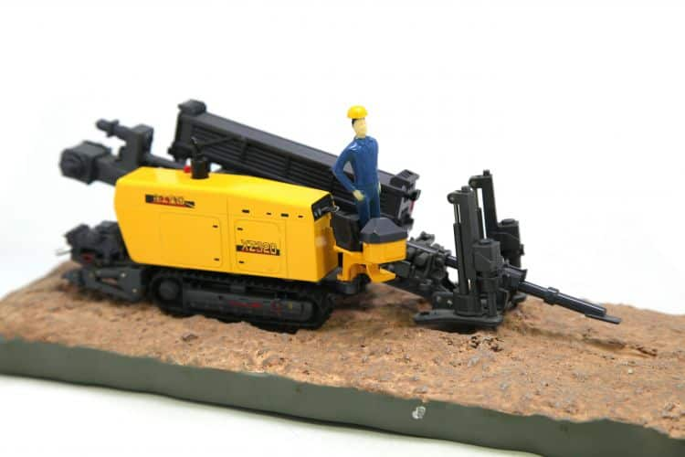 XCMG Horizontal Directional Drill XZ320 Model (1:35)