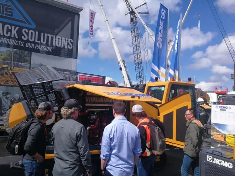XCMG XZ4055 China electric drive horizontal directional drilling rig Bauma exhibition products