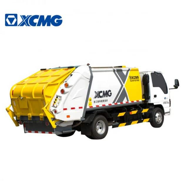 XCMG Official manufacturer 3ton 6m3 small compressed garbage compactor truck XZJ5070ZYSQ5 for sale