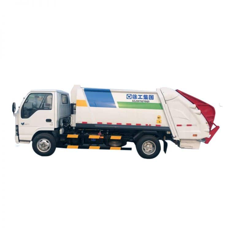 XCMG Official Manufacturer 3 tons Compressed Garbagetruck XZJ5070ZYS for sale