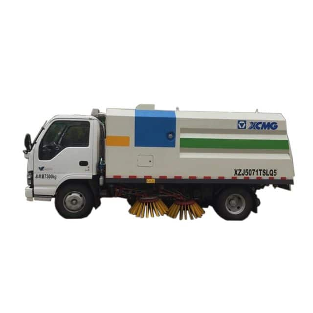 XCMG Official Manufacturer 3 tons Road Sweeper XZJ5071TSLD5 for sale