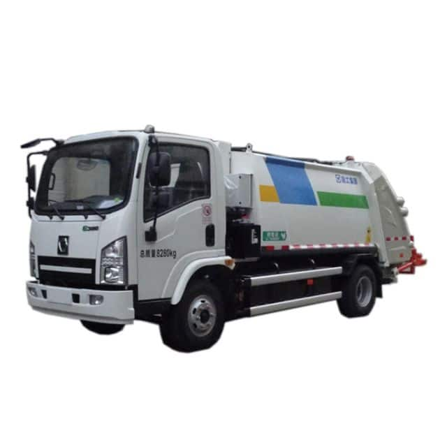 XCMG Official Manufacturer Compressed Garbagetruck XZJ5080ZYSNBEV for sale