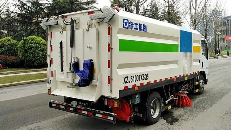 XCMG 5 ton 6200L Road Sprinkler Sweeping Truck XZJ5100TXSQ5 Sanitation Machinery price