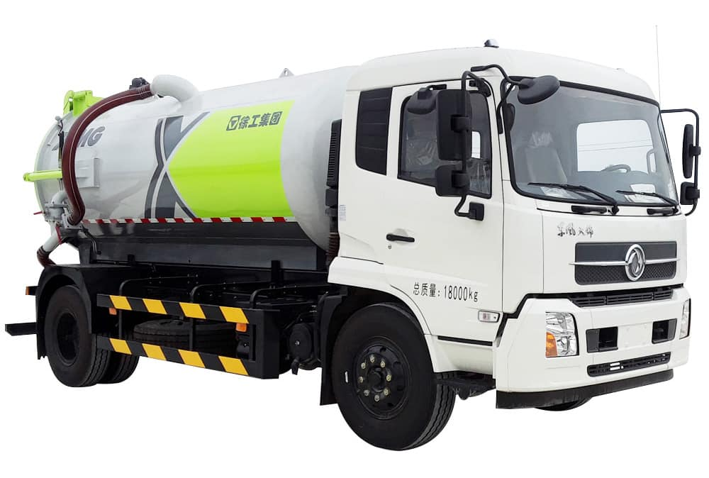 XCMG Official XZJ5120GXWD5 Suction Truck for sale
