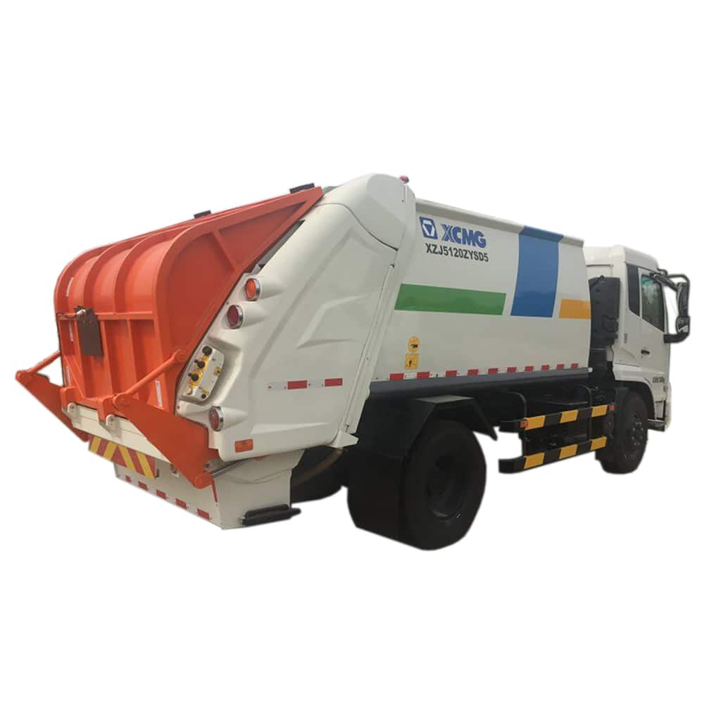 XCMG Official 5 ton 10cbm Garbage Truck XZJ5120ZYSD5 compressed garbage compactor truck for sale