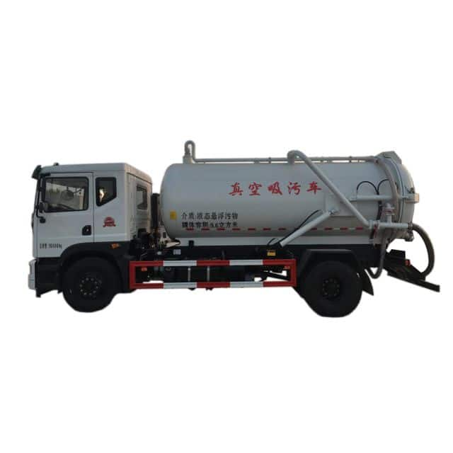 XCMG Official Manufacturer 8 tons  Suction-type Sewer Scavenger XZJ5160GXWD5