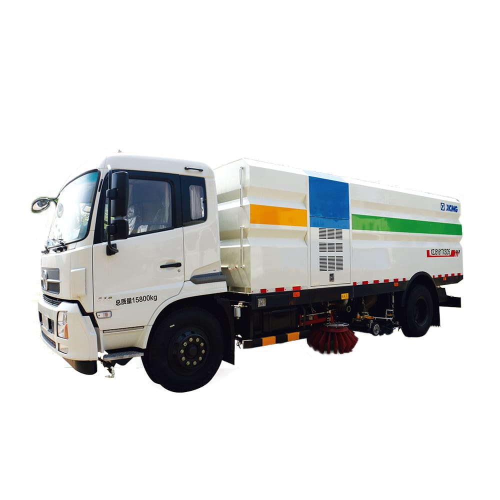 XCMG Official Manufacturer 8 tons Sprinkler-Sweeping Truck XZJ5160TXSD5 for sale