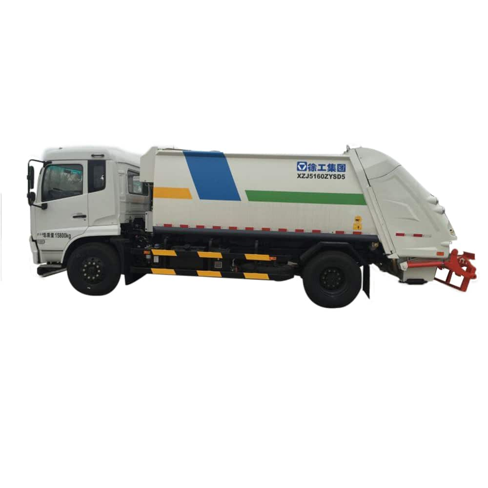 XCMG Official Manufacturer 8 tons Compressed Garbage truck XZJ5160ZYSD5 for sale