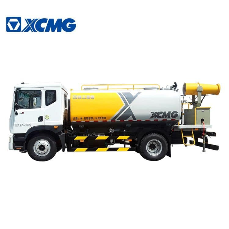 XCMG official sprinkler cleaning truck XZJ5161GQXD5 with high and low pressure water system price