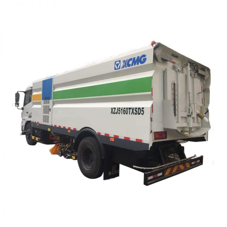 XCMG Official Manufacturer 8 tons Sprinkler-Sweeping Truck XZJ5161TXS for sale