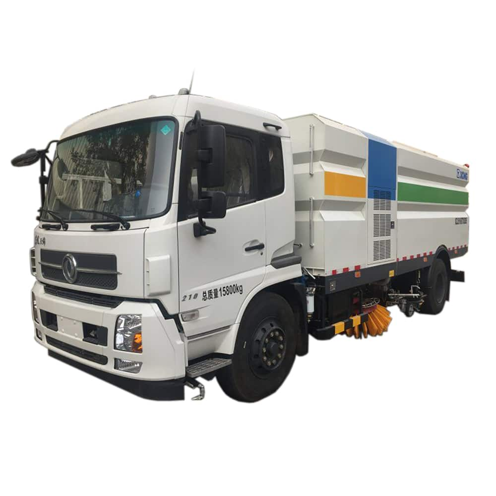 XCMG Official Manufacturer 8 tons Sprinkler Sweeping Truck XZJ5161TXS for sale