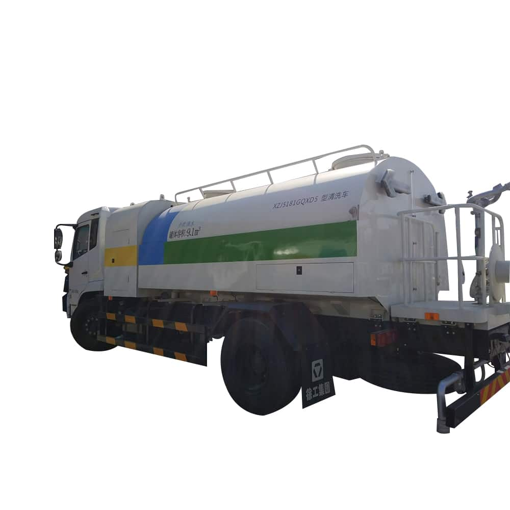 XCMG Official Manufacturer 8 tons Sprinkler Cleaning Truck XZJ5180GQXQ5 for sale