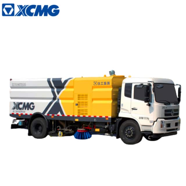 XCMG official manufacturer sprinkler road sweeper garbage truck road cleaning machine XZJ5180TXSD5