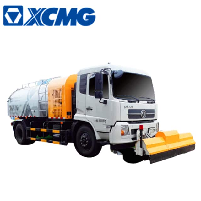 XCMG official new 8 ton clean truck high pressure cleaner XZJ5181GQXD5 price