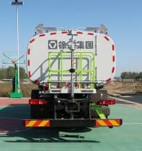 XCMG sprinkler cleaning truck XZJ5250GQXS5 road cleaning truck with high pressure water system price