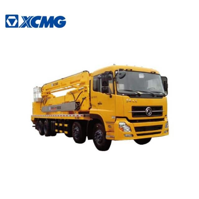 XCMG official manufacturer 20m bridge inspection truck XZJ5330JQJD5 folding boom vehicle for sale