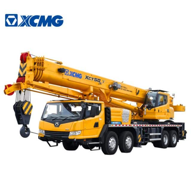 XCMG Official 50 Ton Hydraulic Crane Truck XCT50_Y China New Hydraulic Crane Price