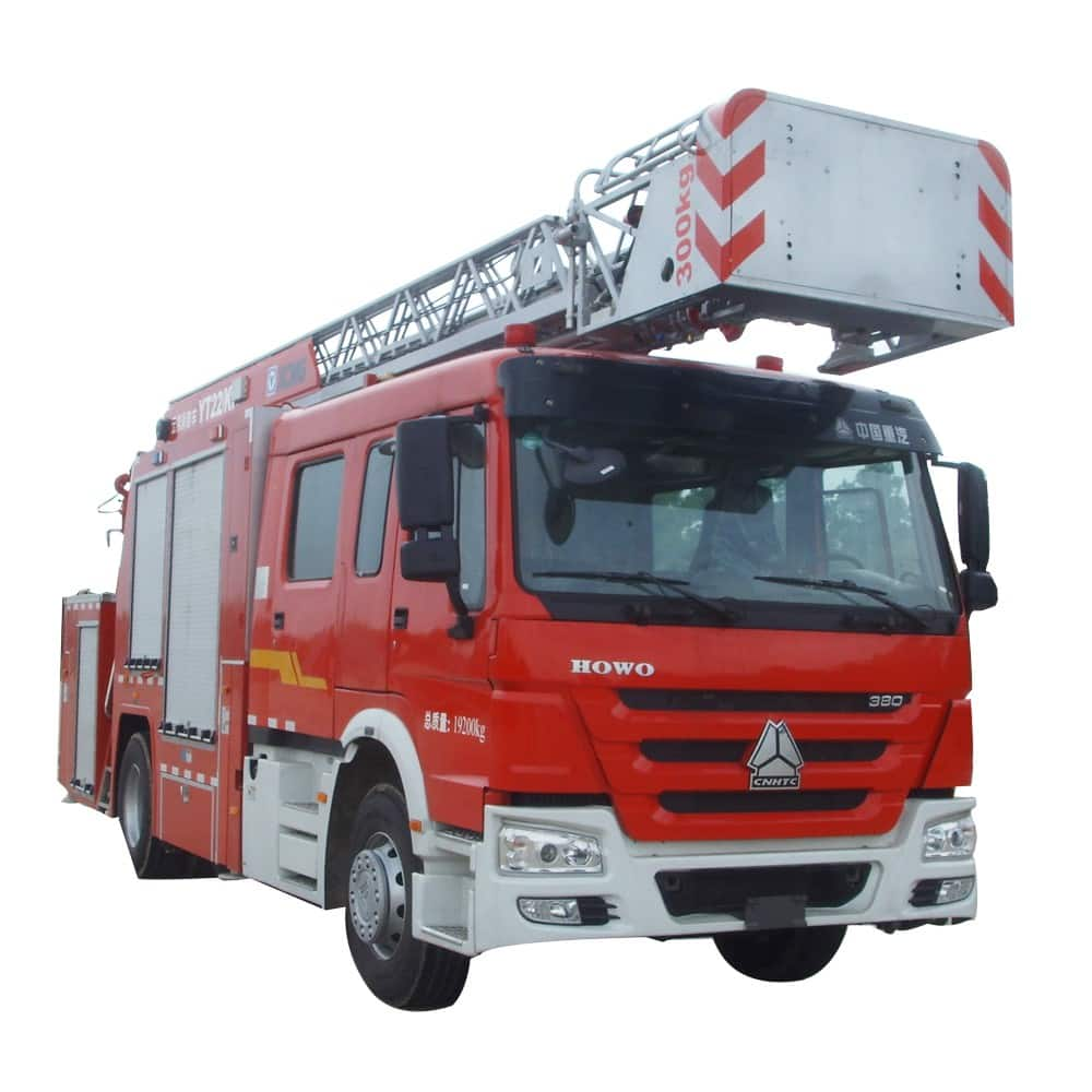 XCMG Official  22m  Aerial Ladder Work Platform Fire Truck YT22K1 for sale