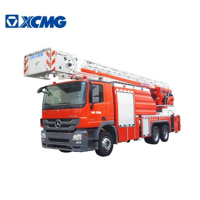 XCMG 32m aerial ladder fire truck YT32M1 China Fire Truck Ladder Truck with Benz chassis price
