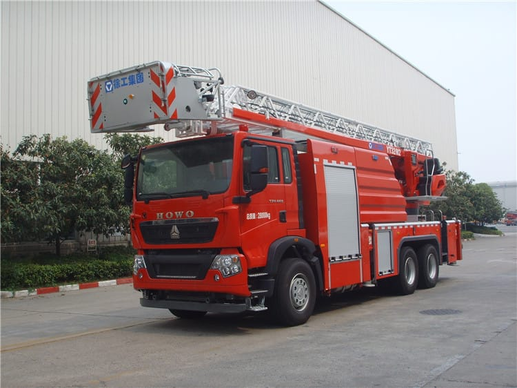 XCMG 32m 6x4 aerial ladder fire truck YT32M2 new hydraulic multifunctional fire truck for sale