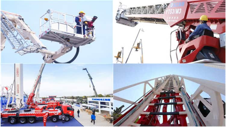 XCMG Official Fire Truck China 53m new aerial ladder fire truck YT53M1 price for sale