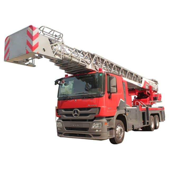 XCMG Official 53m Aerial Ladder Work Platform Fire Truck YT53 for sale