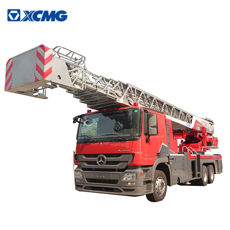 XCMG official 53m fire fighting truck YT53M1 China aerial ladder fire truck with Benz chassis price