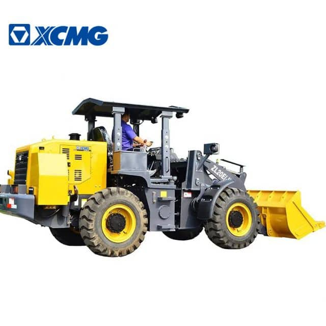 XCMG new 2 ton mini underground wheel loader ZL20E(J) with fatory price