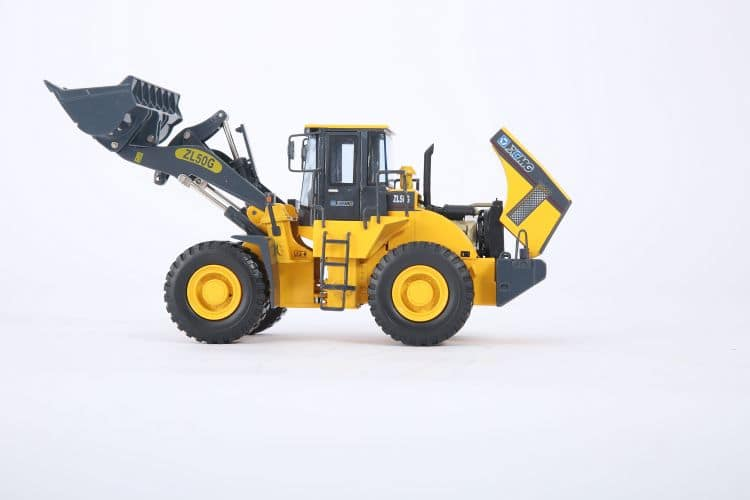 XCMG loader model ZL50G wheel loader metal toy for sale