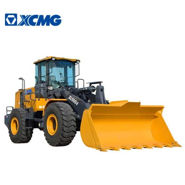 XCMG Official Manufacturer 5 ton Loaders ZL50GV Chinese front wheel loader machine for sale