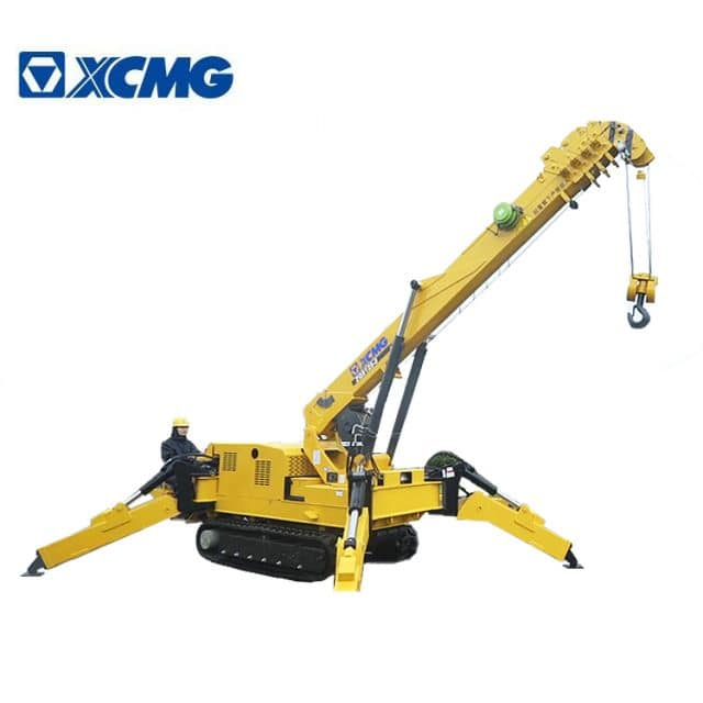 XCMG Official 6 Ton Spider Crane ZQS125-5 China Brand New Mini Crawler Crane Price